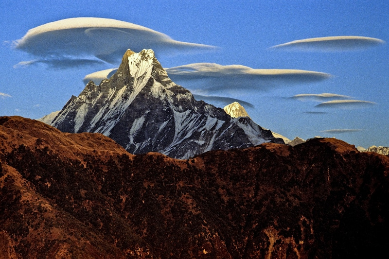 Machapuchre from Poon Hill