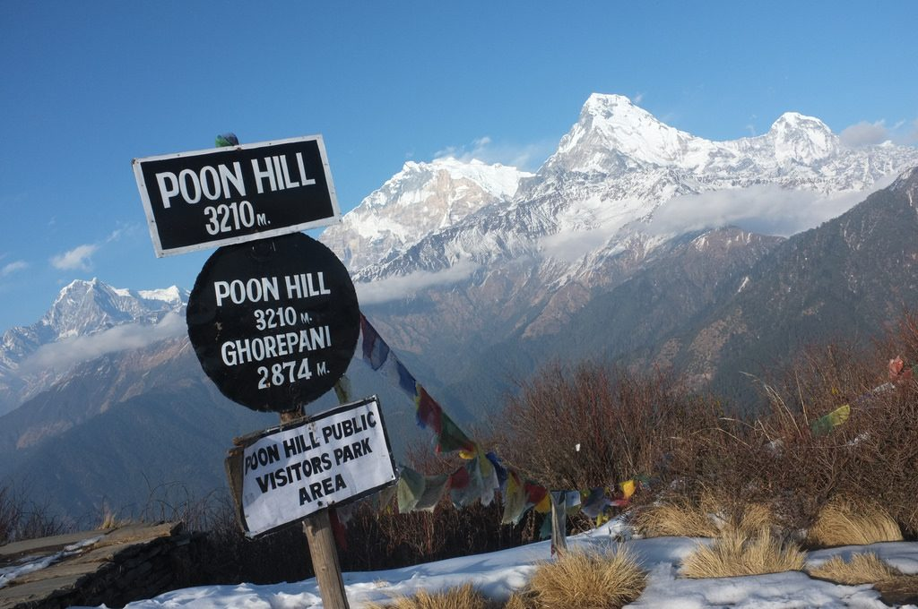 4 days Poon Hill Trek Nepal