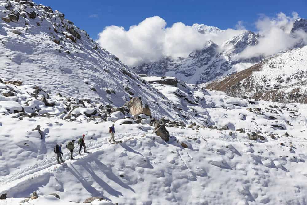 Everest Base Camp Trek in Febraury