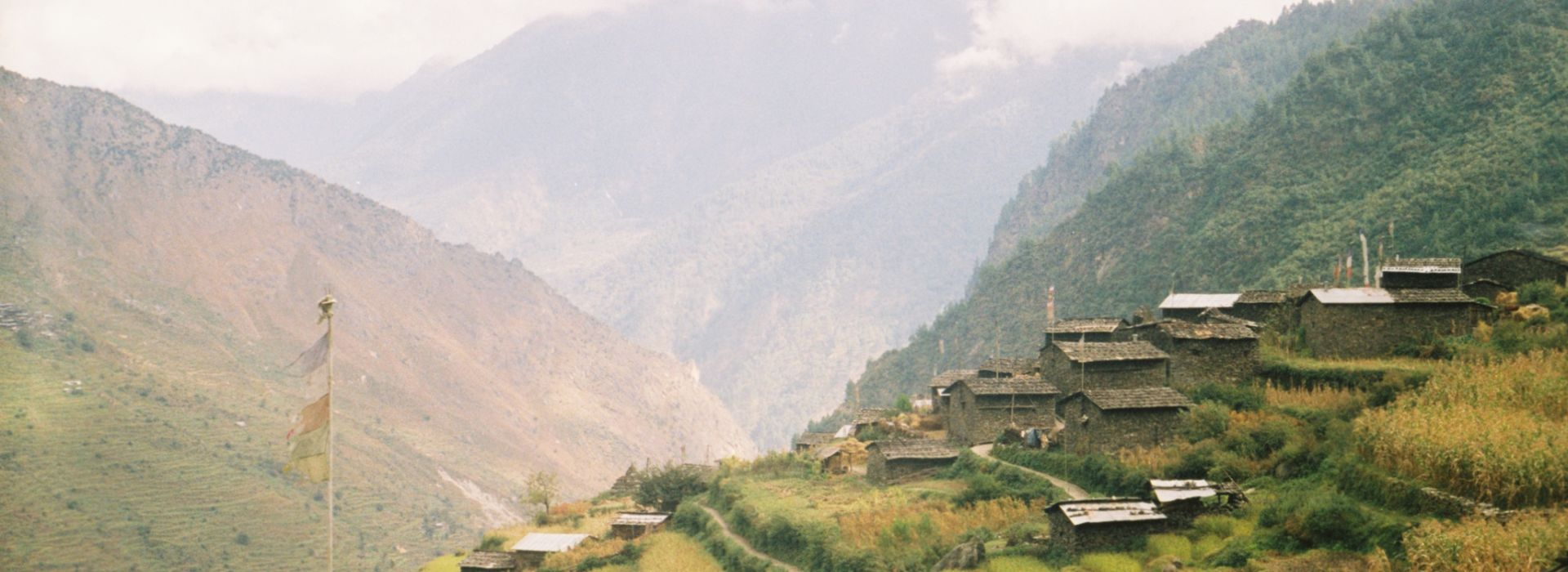 Langtang Village Before and After Earthquake