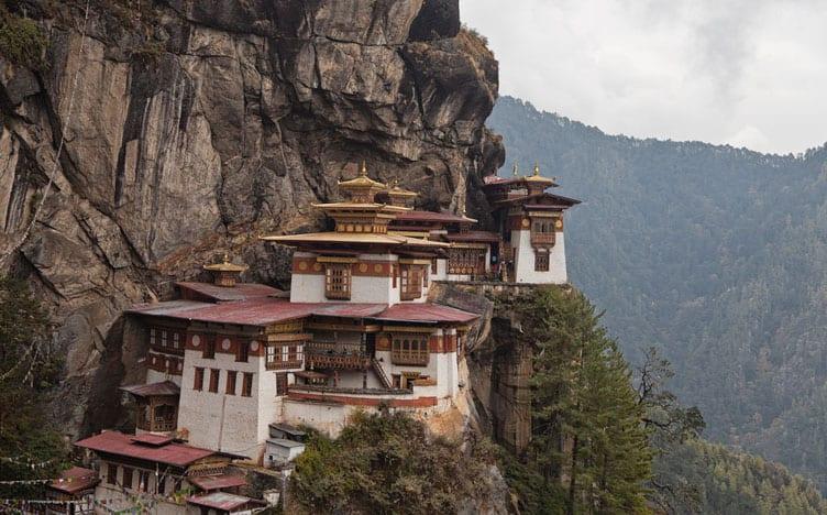Taktsang Monastery Paro Bhutan