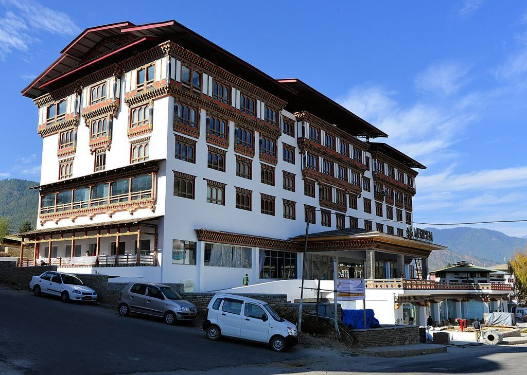 Accommodation in Bhutan in September