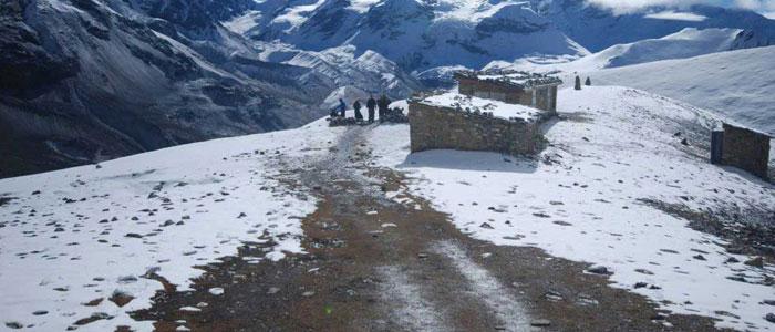 Annapurna Circuit Trek with Tilicho Lake in April