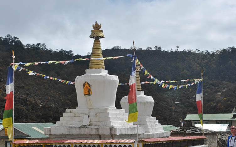 Buddhist Stupa Everest Area