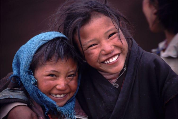 Kids in Tibet - top activities in tibet