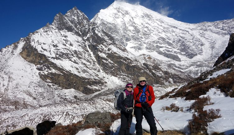 Langtang Valley trek kyanjin ri hike
