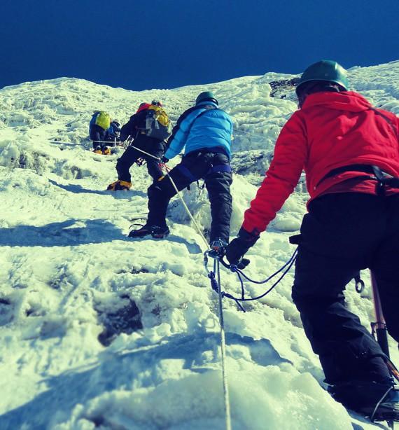 Climbing Peak