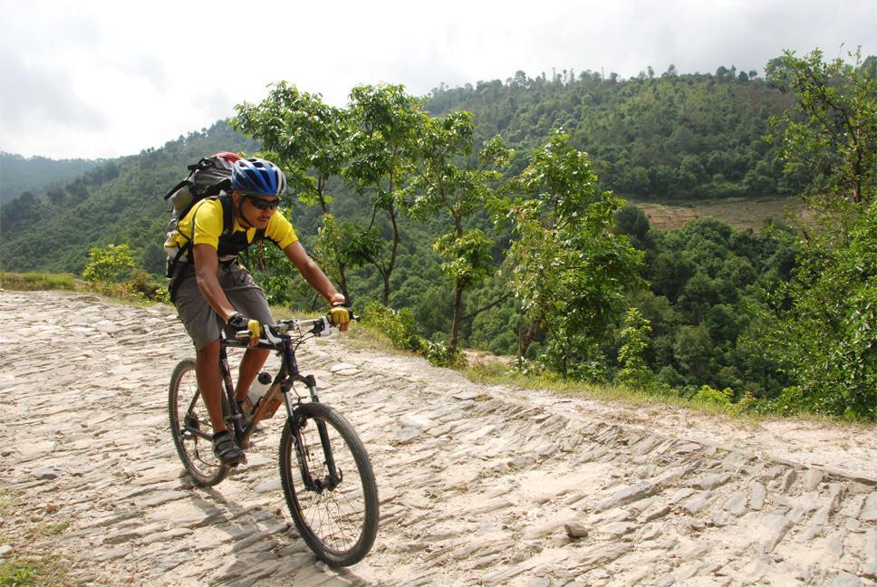 mountain biking kathmandu