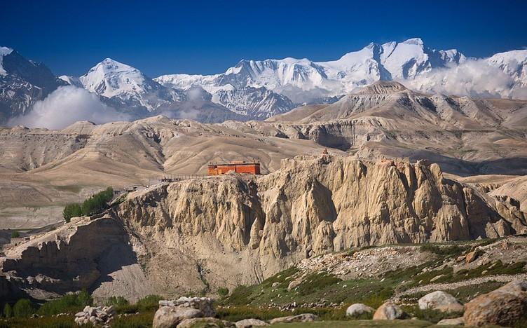 Namgyal Monastery, Upper Mustang Trek, Nepal