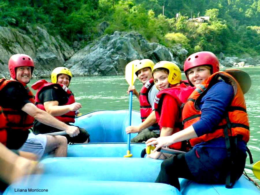 Nepal rafting Trishuli family Holiday