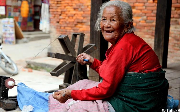 Nepal smile