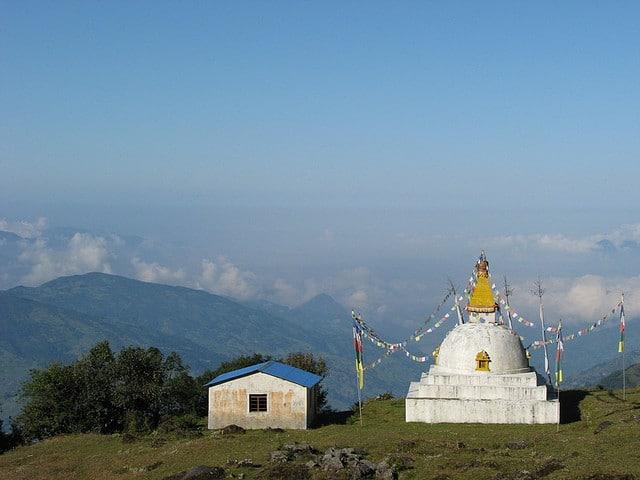 Stupa at Langtang Helambu Trek