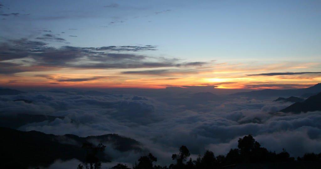 Sunrise At Kutumsang, Langtang