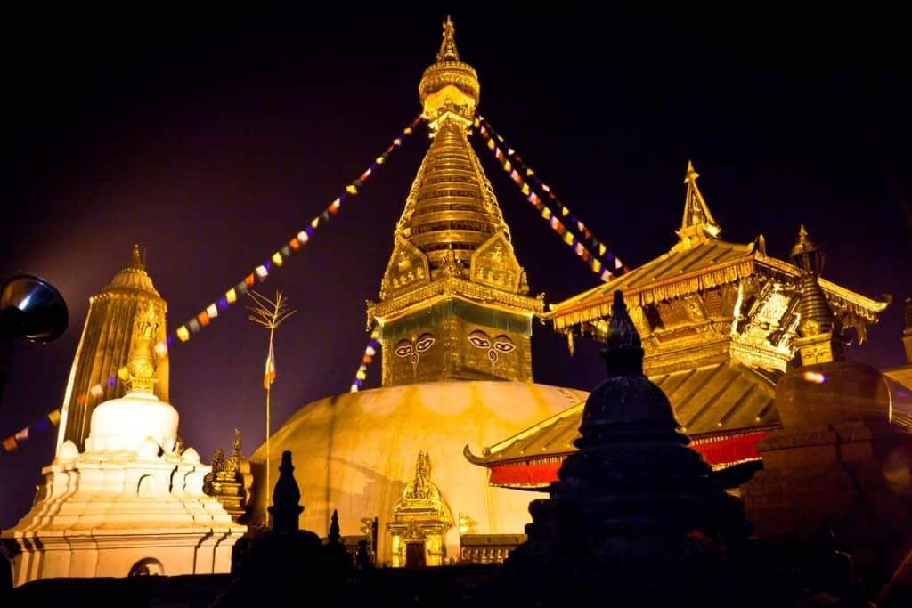 Swayambhu Nath- cultural Hertitage Nepal