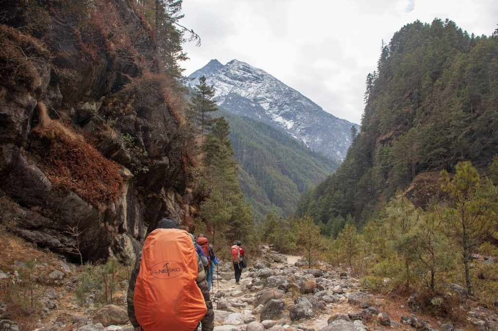 Trekking With or Without Guide and Porter
