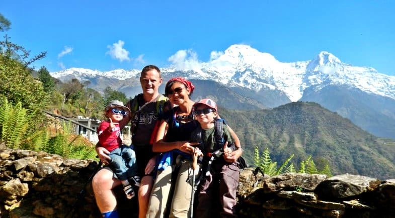 Trekking in Nepal with children
