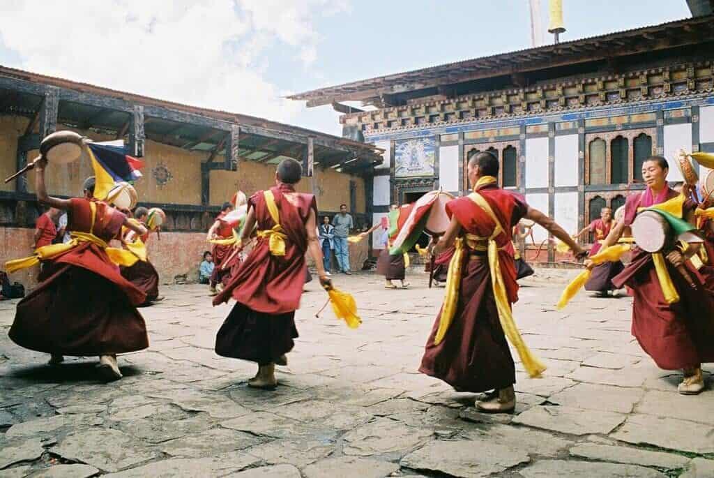 Trongsa Tshechu festival