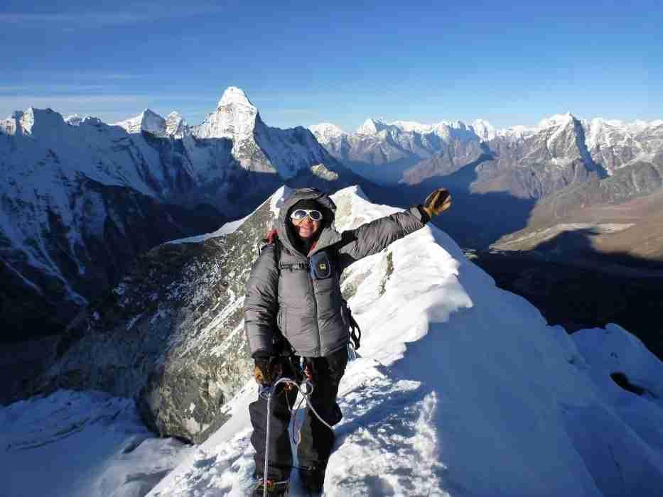 Successful Island Peak Climbing and everest base camp trek